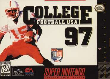 College Football USA 97: The Road to New Orleans - SNES - Used