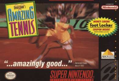 David Crane's Amazing Tennis - SNES - Used