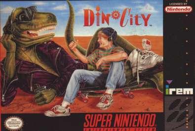 Dinocity - SNES - Used
