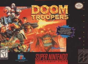 Doom Troopers - SNES - Used