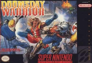 Doomsday Warrior - SNES - Used