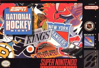 ESPN National Hockey Night - SNES - Used