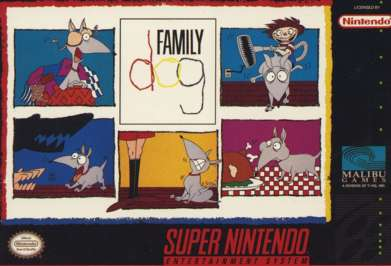 Family Dog - SNES - Used