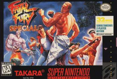 Fatal Fury Special - SNES - Used