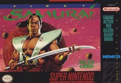 First Samurai - SNES - Used