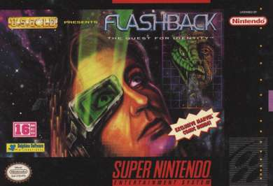 Flashback: The Quest for Identity - SNES - Used