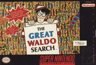 Great Waldo Search - SNES - Used