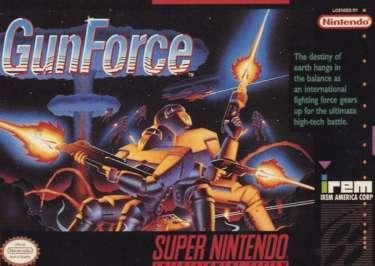 Gunforce - SNES - Used