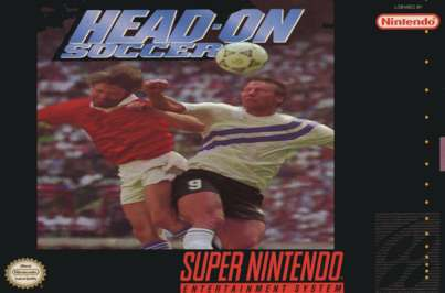 Head-On Soccer - SNES - Used
