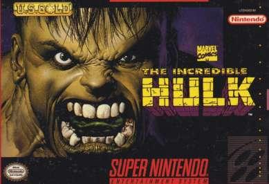 Incredible Hulk - SNES - Used