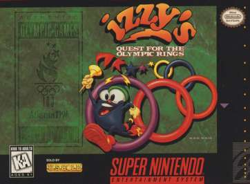 Izzy's Quest for the Olympic Rings - SNES - Used
