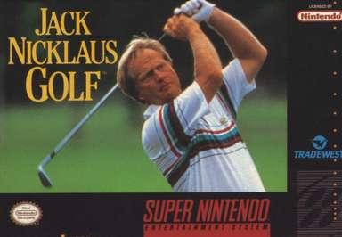 Jack Nicklaus Golf - SNES - Used