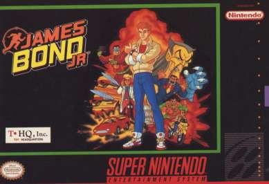 James Bond Jr. - SNES - Used
