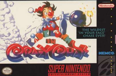 Kid Klown in Crazy Chase - SNES - Used