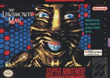 Lawnmower Man - SNES - Used