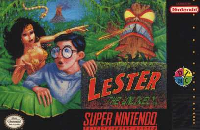Lester the Unlikely - SNES - Used