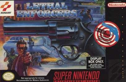Lethal Enforcers - SNES - Used