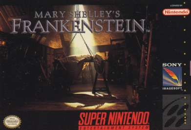 Mary Shelley's Frankenstein - SNES - Used