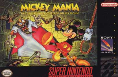 Mickey Mania: The Timeless Adventures of Mickey Mouse - SNES - Used