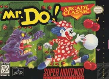Mr. Do! - SNES - Used