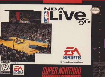 NBA Live '96 - SNES - Used