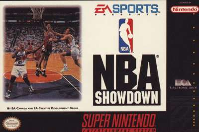 NBA Showdown - SNES - Used