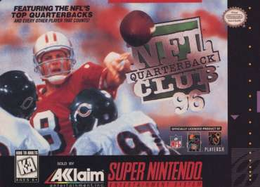 NFL Quarterback Club '96 - SNES - Used