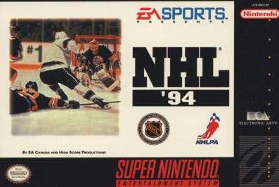 NHL '94 - SNES - Used