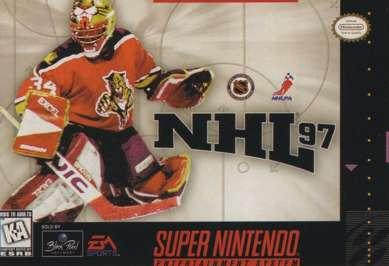 NHL '97 - SNES - Used