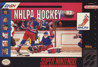 NHLPA Hockey '93 - SNES - Used