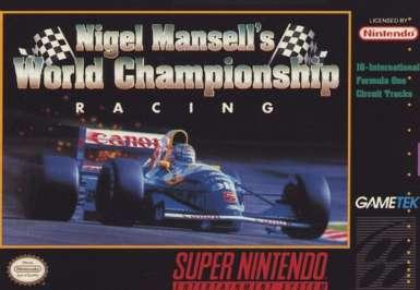 Nigel Mansell's World Championship Racing - SNES - Used