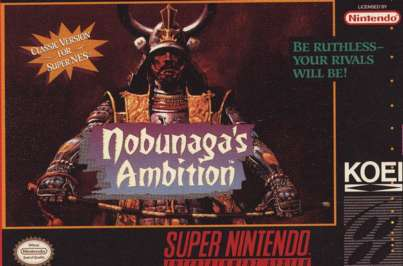 Nobunaga's Ambition - SNES - Used