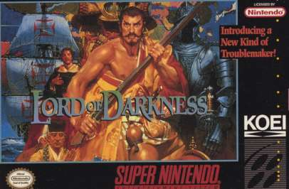 Nobunaga's Ambition: Lord of Darkness - SNES - Used