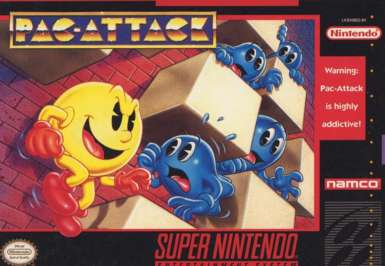 Pac-Attack - SNES - Used