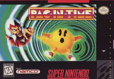Pac-in-Time - SNES - Used