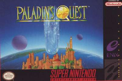 Paladin's Quest - SNES - Used