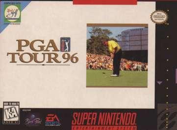 PGA Tour '96 - SNES - Used