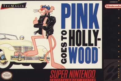 Pink Panther Goes to Hollywood - SNES - Used