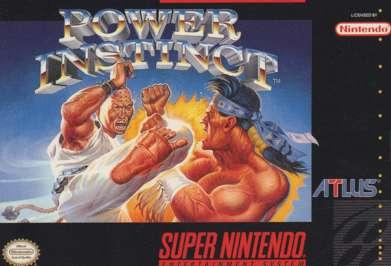 Power Instinct - SNES - Used