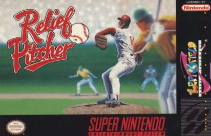 Relief Pitcher - SNES - Used