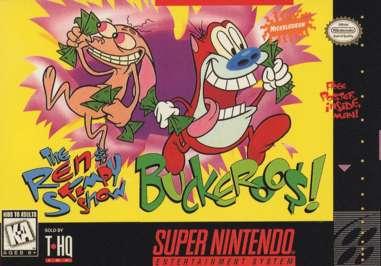 Ren & Stimpy Show: Buckeroo$! - SNES - Used