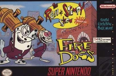 Ren & Stimpy: Fire Dogs - SNES - Used