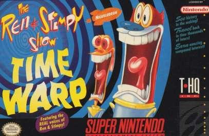 Ren & Stimpy: Time Warp - SNES - Used