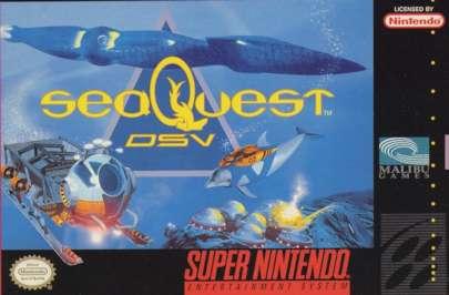 SeaQuest DSV - SNES - Used