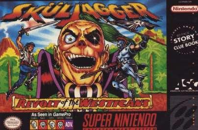 Skuljagger - SNES - Used