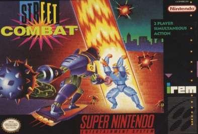 Street Combat - SNES - Used