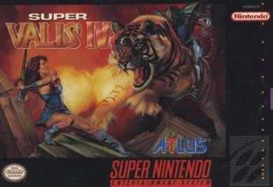 Super Valis IV - SNES - Used