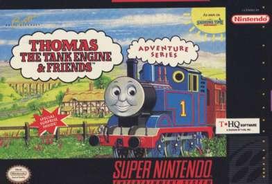 Thomas the Tank Engine & Friends - SNES - Used
