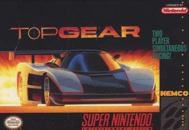 Top Gear - SNES - Used