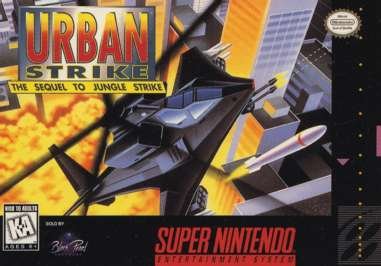 Urban Strike - SNES - Used